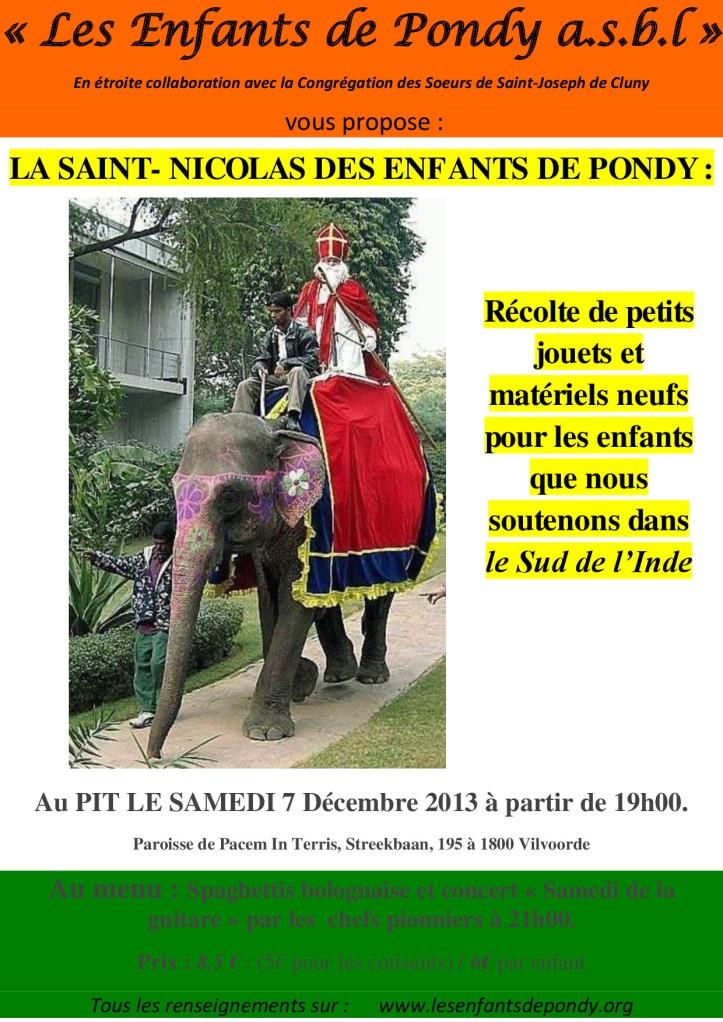La saint nicolas des Enfants de Pondy (2)
