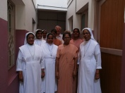 The Community of the Villa Carlos, Provincial House with Sister Rosita ansd Sister Shanti
