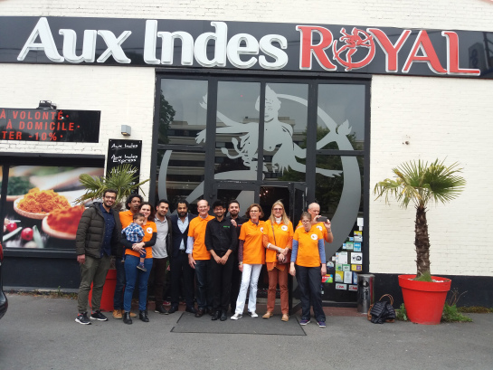 aux indes royal