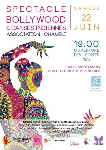 Chameli spectacle de danse 2019